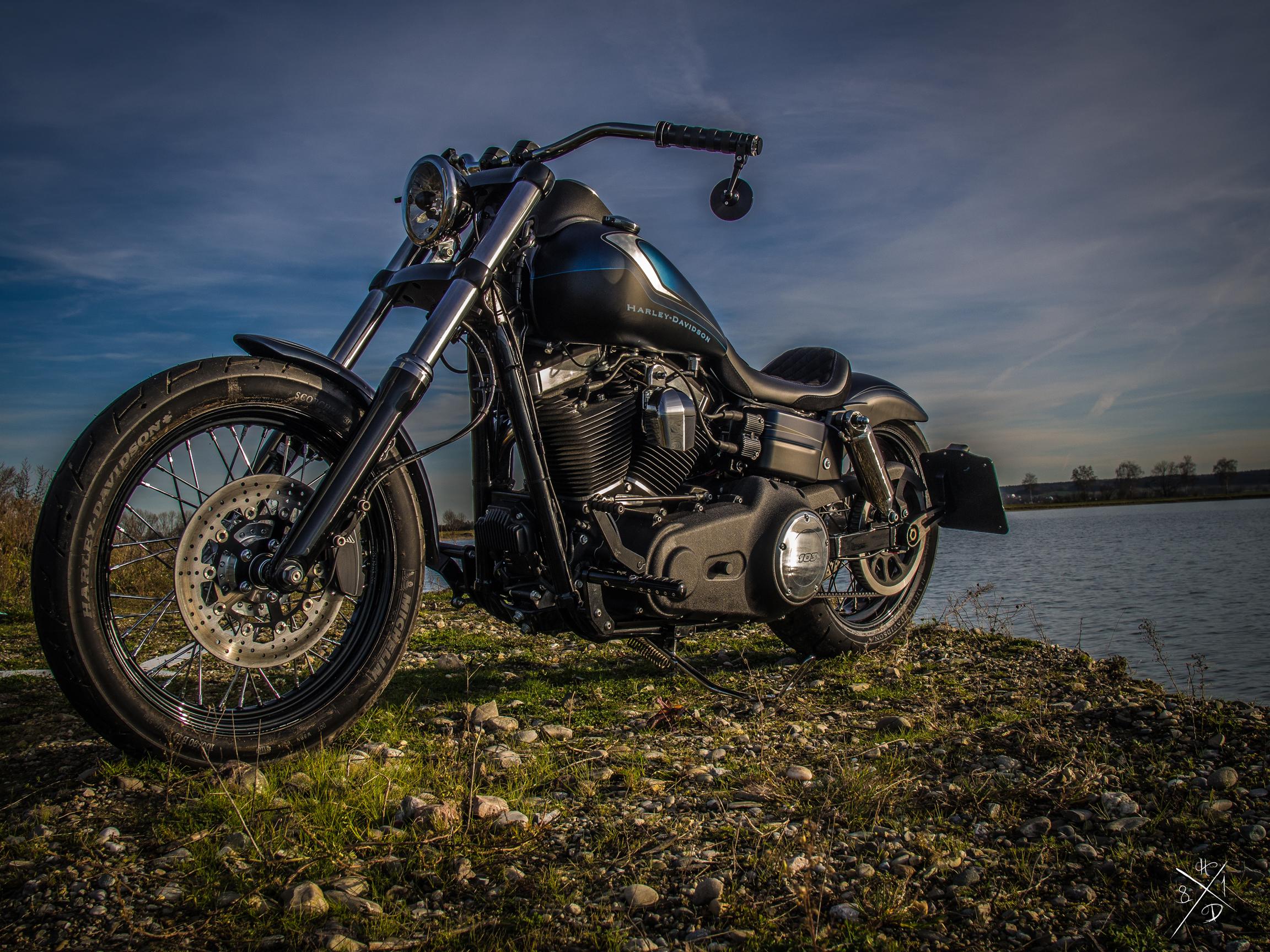 oceanic harley davidsons dyna street bob mit dem gewissen etwas m ller motorcycle ag. Black Bedroom Furniture Sets. Home Design Ideas